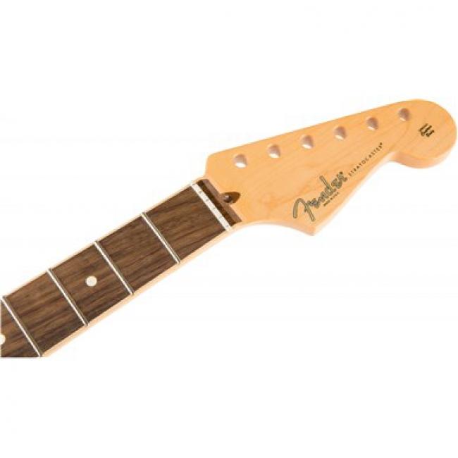 American Channel Bound Stratocaster Neck, 21 Med Jumbo Frets, Rosewood, FENDER  - купить со скидкой