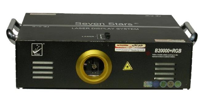 B20000+RGB Лазерный проектор, анимационный, полноцветный