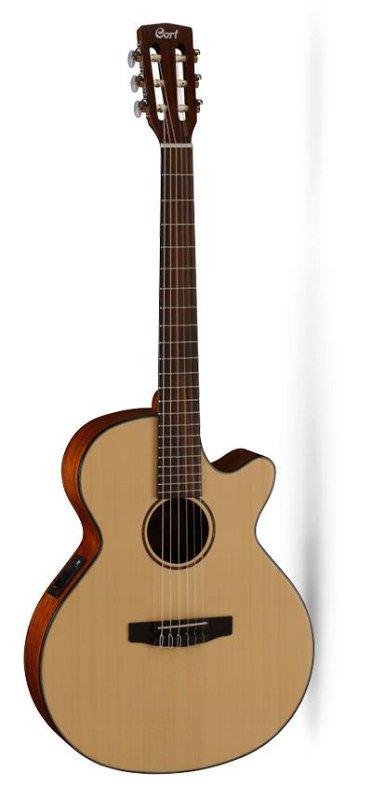 CEC3-NS Classic Series Классическая гитара со звукоснимателем, с вырезом, цвет натуральный