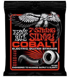2730 струны для 7стр. эл.гитары Cobalt Skinny Top Heavy Bottom 7 (10-13-17-30-42-52-62)