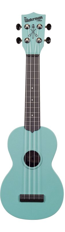 WATERMAN by KALA KA-SWG-BL Waterman GITD Blue Soprano Ukulele