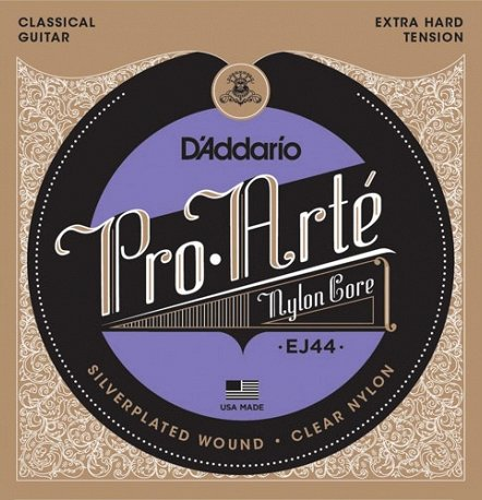 EJ44 PRO-ARTE NYLON, EXTRA HARD TENSION
