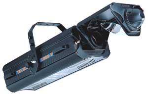 PRO1210S - сканер HMI1200, DMX-512, цвет 7, гобо 4+4, призмы 4, строб, фрост, фокус