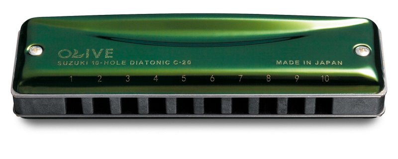 C-20C (15321) губная гармоника диатоническая тональность C