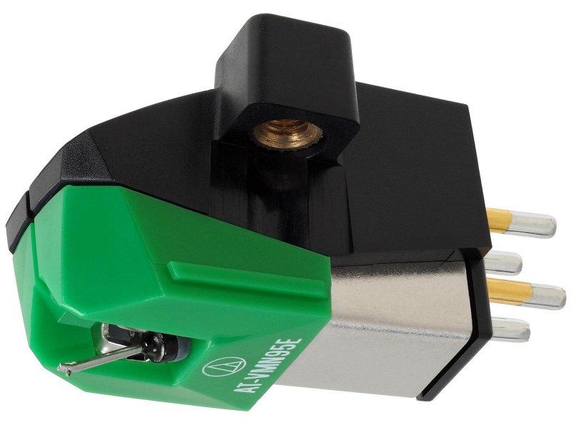 VM95E Составная эллиптическая игла, цвет зеленый