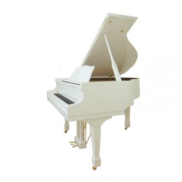 SIG50D/WHHP - рояль, 103x148x150, 297кг, струны `Roslau`(нем.), полир., белый