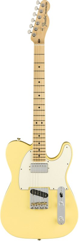 AMERICAN PERFORMER TELECASTER® WITH HUMBUCKING, MAPLE FINGERBOARD, VINTAGE WHITE фото