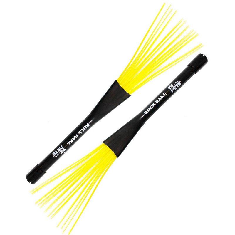BRR Rock Rake – yellow plastic