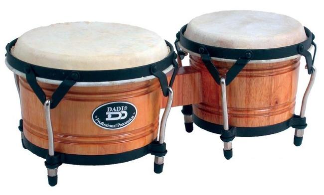 DADI BG179 Бонги деревянные, пара, прямые бока 7`-9.