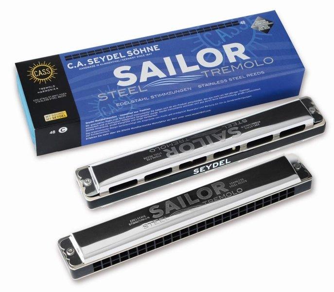 26484A Sailor Steel Am Губная гармошка тремоло