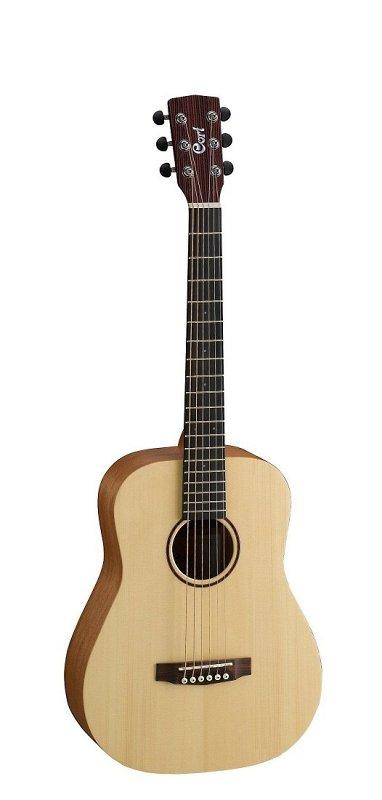 EARTH-MINI-OP Earth Series Акустическая гитара 3/4, цвет натуральный, с чехлом