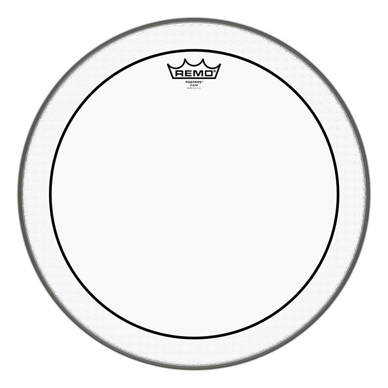 PS-0316-10- Batter, PINSTRIPE®, Clear, 16` Diameter, BLACK DOT™