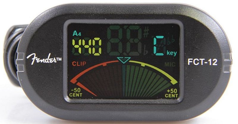 FCT-012 COLOUR CLIP-ON TUNER