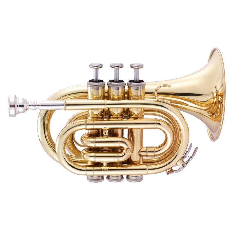JP159L Труба Bb компактная, золотое лаковое покрытие