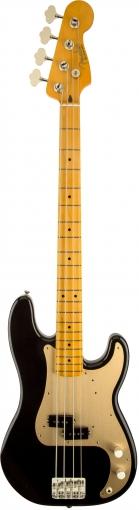 50s Precision Bass Lacquer, Maple Fingerboard, Black