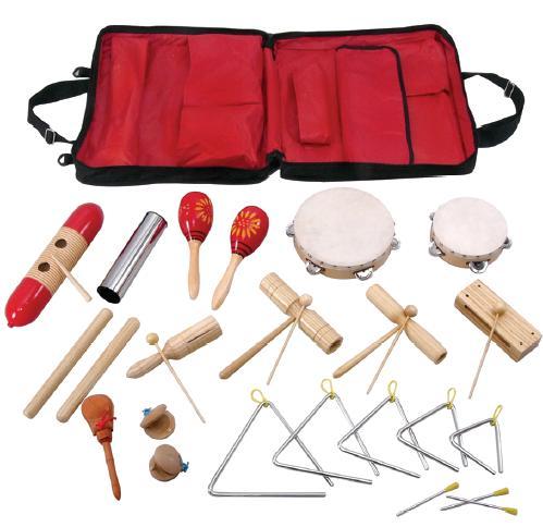 RS-17 набор перкуссии 17 предметов с сумкой