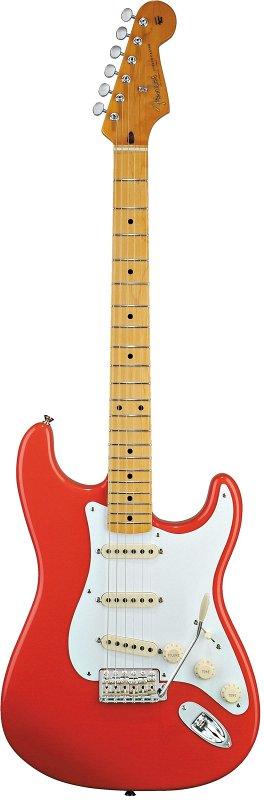 Classic Series `50s Stratocaster, Maple Fingerboard, Fiesta Red