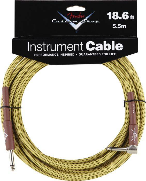 CUSTOM SHOP 18.6` ANGLE INSTRUMENT CABLE TWEED