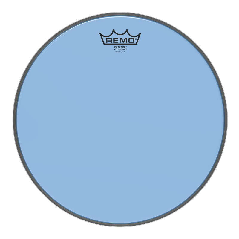 BE-0313-CT-BU Emperor® Colortone™ Blue Drumhead, 13.