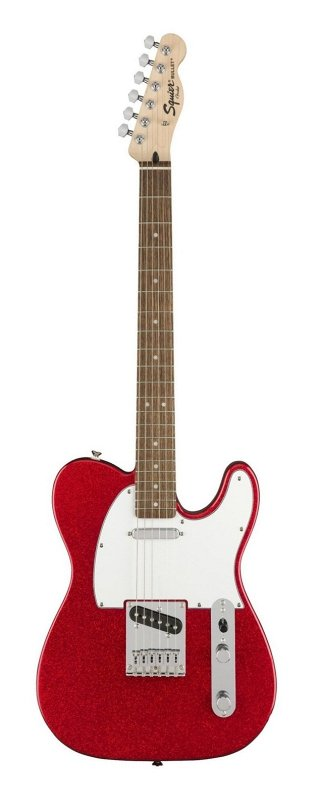 SQUIER FSR Bullet Tele®, Laurel Fingerboard, Red Sparkle фото