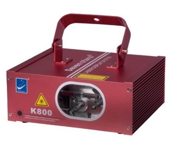K800 Лазерный проектор, красный+зеленый