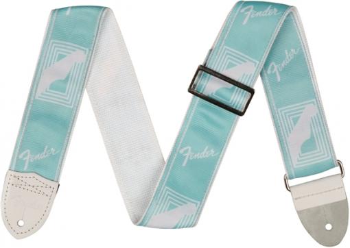 2` Monogrammed Strap, Daphne Blue