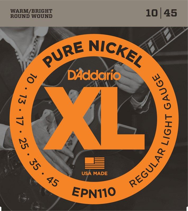 EPN110 PURE NICKEL REGULAR LIGHT 10-45