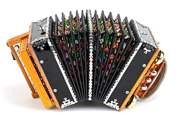 SG10-AbK Саратовская гармонь 10 клавиш, ля бемоль