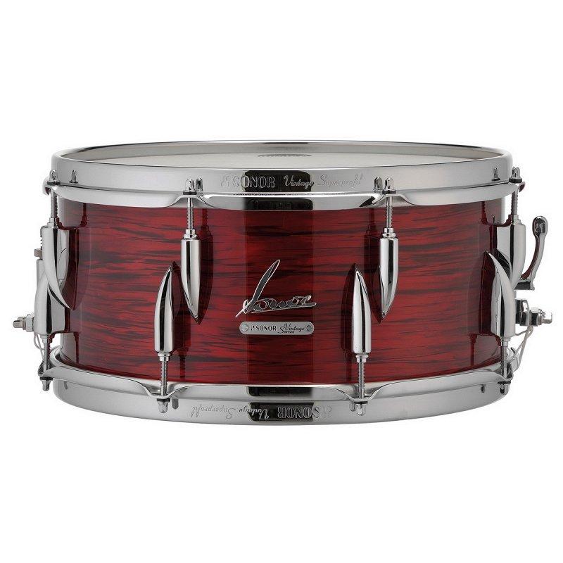 """15910030 Vintage VT 16 14575 SDW 17330 Малый барабан 14"""" x 5,75"""", красный"""