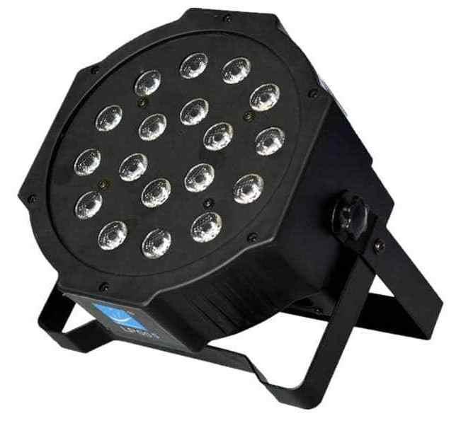 LP005V Светодиодный прожектор, фиолетовый, 18х1Вт
