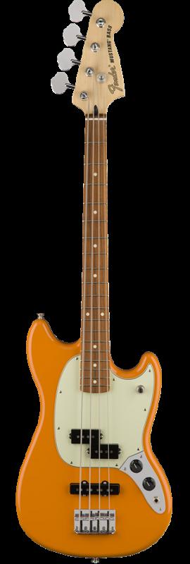 Mustang Bass PJ, Pau Ferro Fingerboard, Capri Orange