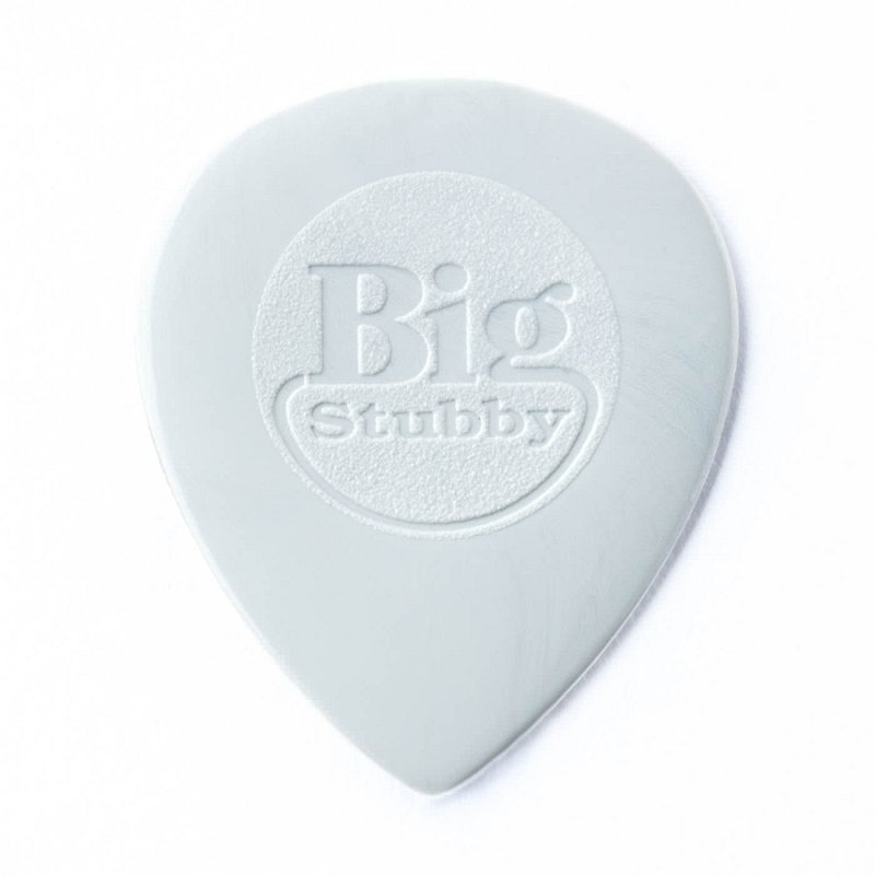 445R1.0 Nylon Big Stubby Медиатор, толщина 1,0мм