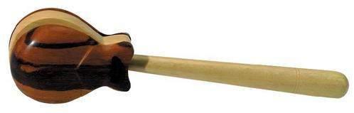 CASTANETS Indian rosewood Single кастаньета на ручке из палисандра, индийский палисандр, 1 шт