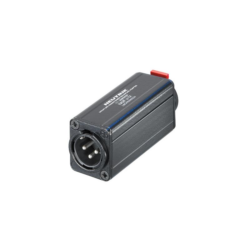 NA2M-J-TX адаптер-переходник с трансформаторной развязкой, 1/4` TRS - XLR Male «папа»