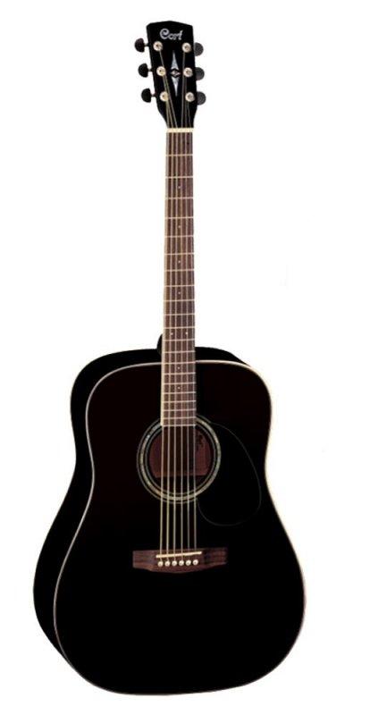 EARTH100-BK Earth Series Акустическая гитара, черная