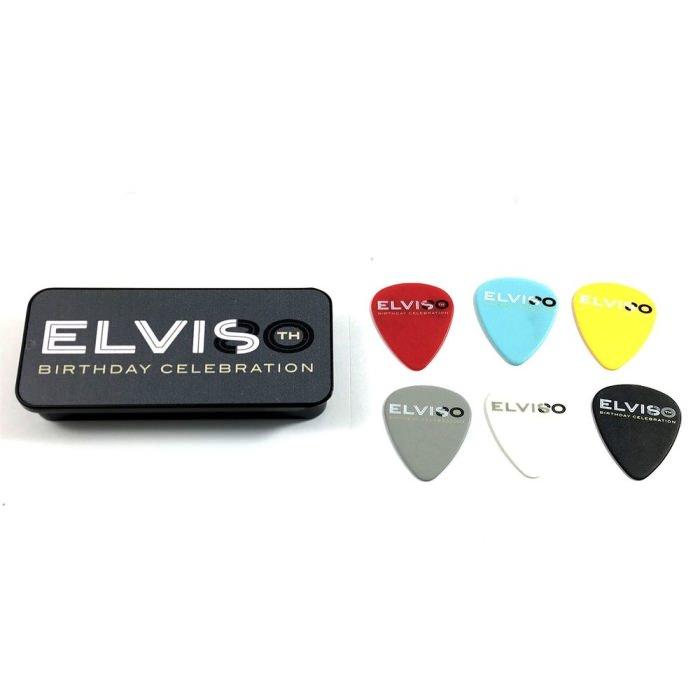 EPPT08 Elvis Presley 80th Birthday Медиаторы 6шт, в коробочке