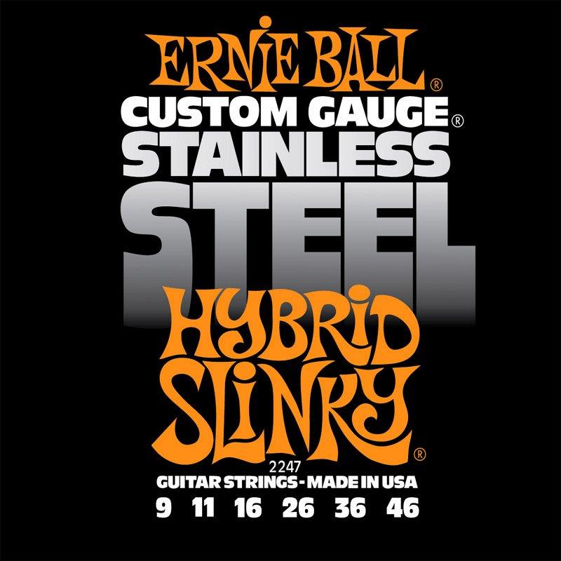 2247 струны для эл.гитары Stainless Steel Hybrid Slinky (9-11-16-26-36-46)