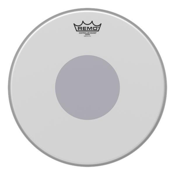 CS-0114-10- CONTROLLED SOUND 14` COATED BOTTOM BLACK DOT