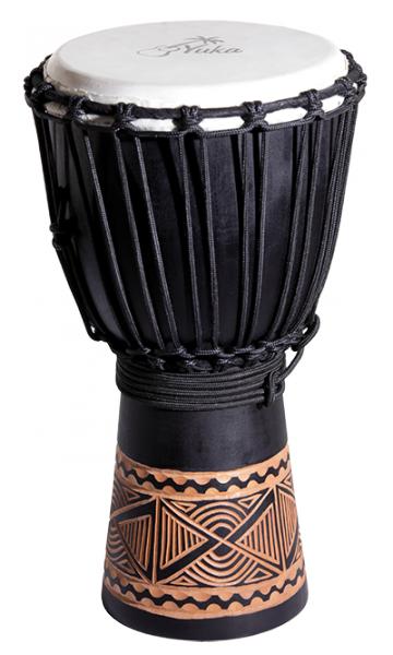 DJWN08-16BK3 - джембе, веревочная настройка,материал - дерево, мембрана - натуральная кожа.