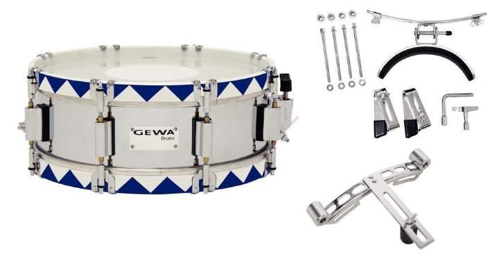 Steel Chrome HW BH 14x5,5` Маршевый малый барабан