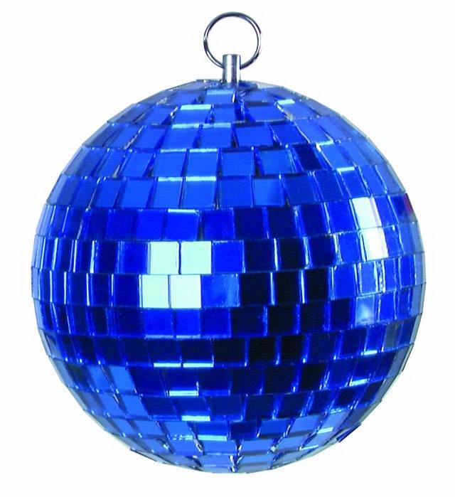 Light зеркальный шар синий 5 см
