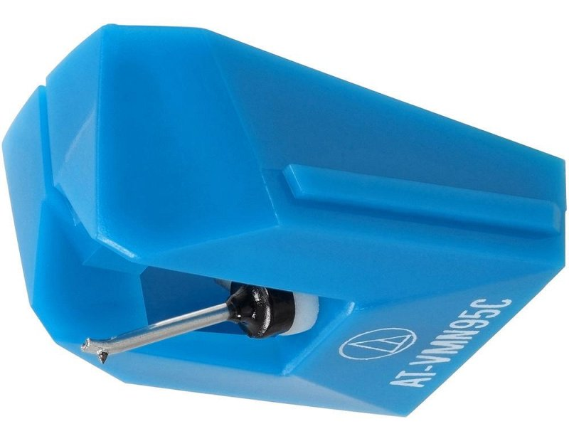 AUDIO-TECHNICA VMN95C Сменная игла для головки AUDIO-TECHNICA VM95С, цвет синий