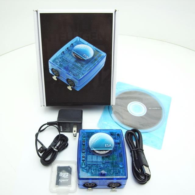SLESA-UE7 - Мини USB/DMX- интерфейс для архит. осв., 2 DMXout (1024 кан), кабель