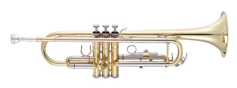 JP051 Труба Bb, студенческая помповая модель
