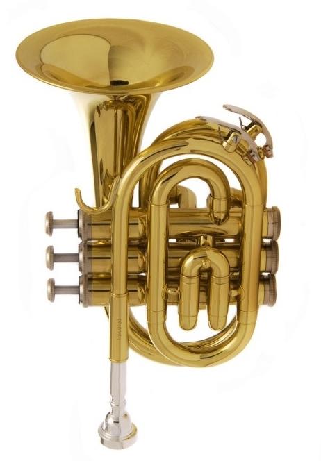 JP159G Труба Bb компактная, лакированная