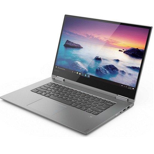 LENOVO YOGA 730 15.6` FHD IPS TOUCH/I7-8565U/16GB/256GB SSD/1050 GTX 4GB/NO DVD/WIN 10/PLATINUM