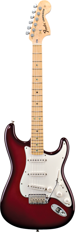 Custom Shop Robin Trower Signature Stratocaster, Maple Fingerboard, Midnight Wine Burst
