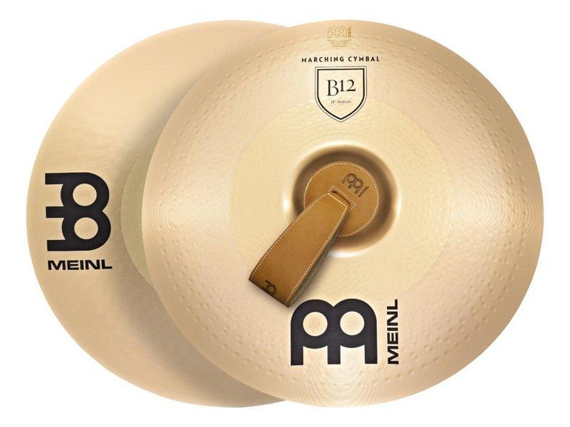 MA-B12-20M Professional Marching B12 Тарелки оркестровые 20`, пара