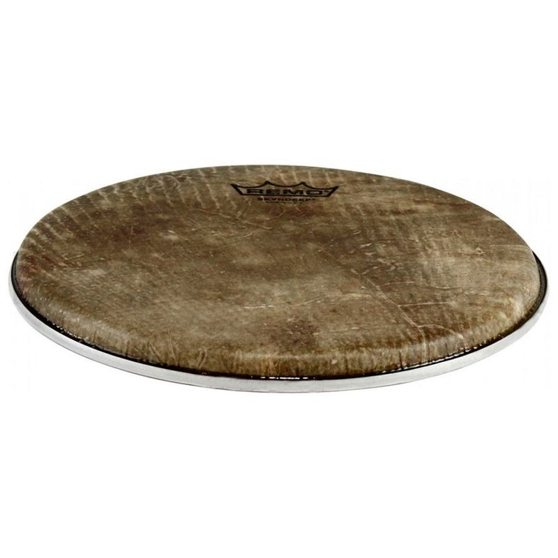 DA-3387-SD-001 Doumbek Drumhead, S Series, SKYNDEEP®, 8.75` Diameter, 3/8` Collar, Thin Hoop, `Fish Skin` Graphic