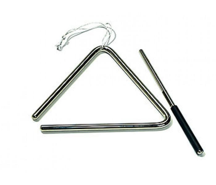 20602301 Latino Triangle LTR 15 Треугольник с палочкой, 15см